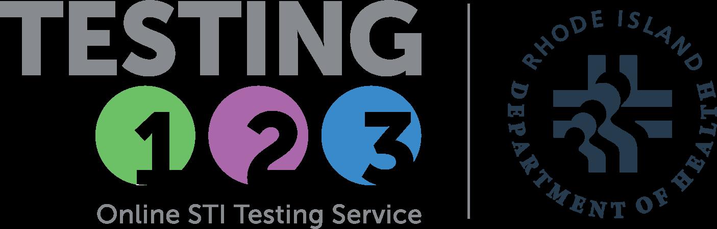 Testing 123 & RIDOH logos